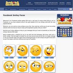 Facebook Smiley Faces