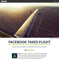 Facebook takes flight