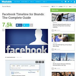 Facebook Timeline for Brands: The Complete Guide