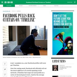 Facebook Pulls Back Curtain on 'Timeline' | Wired Enterprise