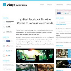 40 Best Facebook Timeline Covers to Impress Your Friends