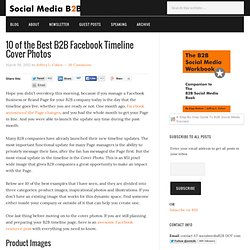 10 of the Best B2B Facebook Timeline Cover Photos