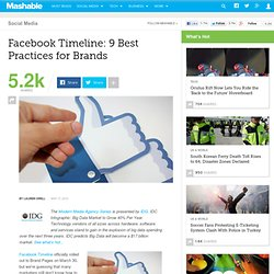 Facebook Timeline: 9 Best Practices for Brands