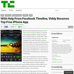 With Help From Facebook Timeline, Viddy Becomes Top Free iPhone App