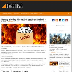 Facebook pranks: Trolling your friends on Facebook | Top Tier Tactics