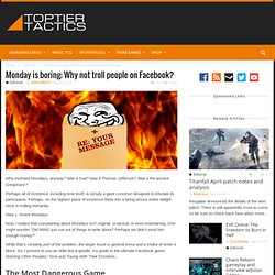 Facebook pranks: Trolling your friends on Facebook