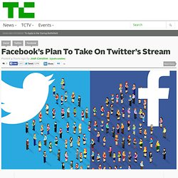Facebook's Plan To Take On Twitter's Stream