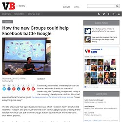 How Facebook's new Groups could help defeat Google