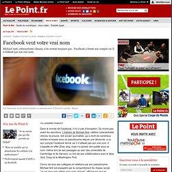 Facebook veut votre vrai nom, actualité Tech & Net : Le Point