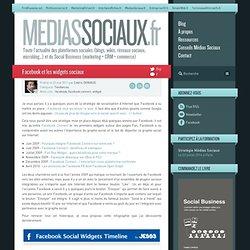 Facebook et les widgets sociaux