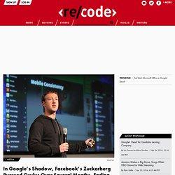 In Google's Shadow, Facebook's Zuckerberg Pursued Oculus Over Several Months, Ending in Weekend Marathon of Dealmaking