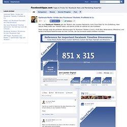 Optimale Maße: Größe des Facebook Titelbild, Profilbild & Co. - Facebooktipps.comFacebooktipps.com