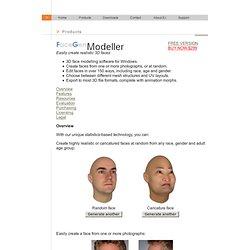 Modeller: 3D Face Generator