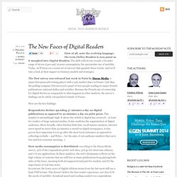The New Faces of Digital Readers
