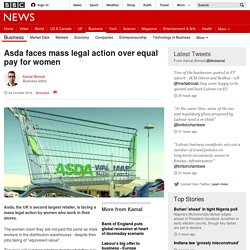 Asda faces mass legal action over equal pay for women - BBC News