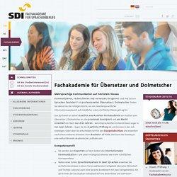 SDI München:Fachakademie für Übersetzer und Dolmetscher