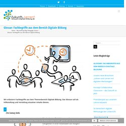 Glossar: Fachbegriffe aus dem Bereich Digitale Bildung – Netzwerk Digitale Bildung