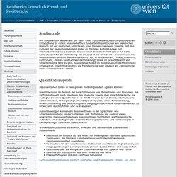 Fachbereich Deutsch als Fremd- und Zweitsprache » Master Deutsch als Fremd- und Zweitsprache