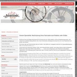 Umbausätze und Umbau zum Elektrorad, Pedelec, E-Bike, Elektro-Fahrrad vom Profi, fachgerecht, - Elektrofahrrad Nachrüstung Service Rat&Tat Brenner
