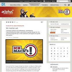 Fachkraft für Lebensmitteltechnik: Wir machen satt - ARD-alpha