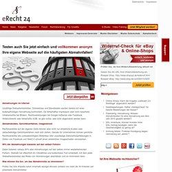 eRecht24 - das Fachportal zum Internetrecht
