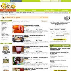 Un menu de la semaine simple, facile et rapide à faire, Recette Un menu de la semaine simple, facile et rapide à faire
