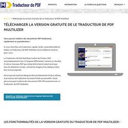 Traduire des documents PDF courts facilement et gratuitement !