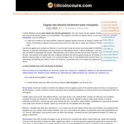 Bitcoin cours BTC EUR temps réel/historique/bourse