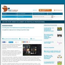 Un site pour créer facilement un portfolio professionnel