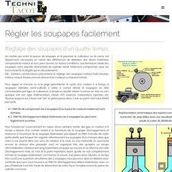 Régler les soupapes facilement - Techni-tacot.com - restauration véhicules