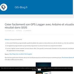 Créer facilement son GPS Logger avec Arduino et visualiser le résultat dans QGIS – GIS-Blog.fr