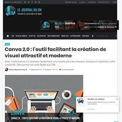 Canva 2.0 : l'outil facilitant la création de visuel attractif et moderne