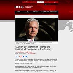 Suecia y Ecuador firman acuerdo que facilitará interrogatorio a Julian Assange