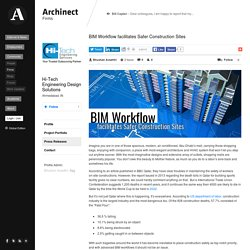 How BIM Workflow enables safer Construction Sites?