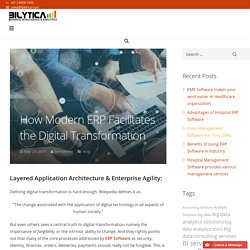 How Modern ERP Facilitates the Digital Transformation