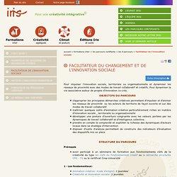 Facilitateur de l'innovation sociale - Accueil