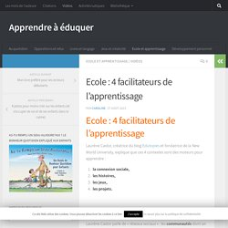 Les 4 boosters de l'apprentissage