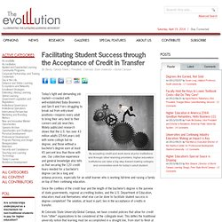 Facilitating Student Success through the Acceptance of Credit in Transfer