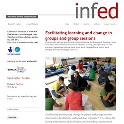 facilitating learning and change in groups and group sessions