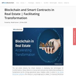 Blockchain and Smart Contracts in Real Estate