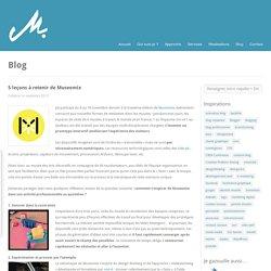 5 leçons à retenir de Museomix