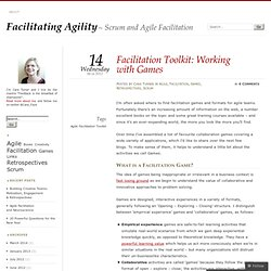 Working with Games- Facilitation Toolkit