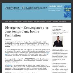 Divergence - Convergence : les deux temps d'une bonne Facilitation