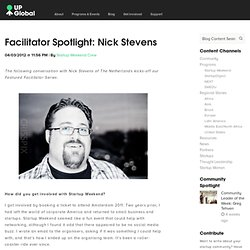 Facilitator Spotlight: Nick Stevens