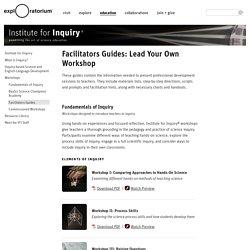 Facilitators Guides: Lead Your Own Workshop