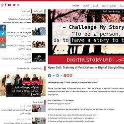 Open Call: Training of Facilitators in Digital Storytelling - 7iber