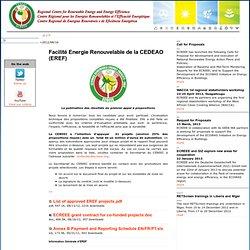 Facilité Energie Renouvelable CEDEAO