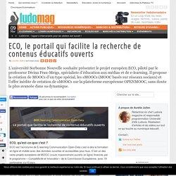 ECO, le portail que facilite la recherche de contenus éducatifs ouverts