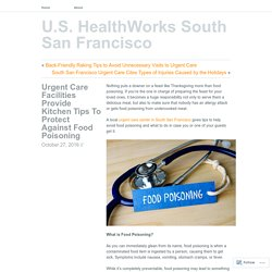 Urgent Care Facilities Provide Kitchen Tips To Protect Against Food Poisoning
