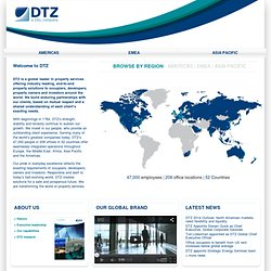 DTZ, a UGL Company | Global Corporate Real Estate Services & Facilities Management